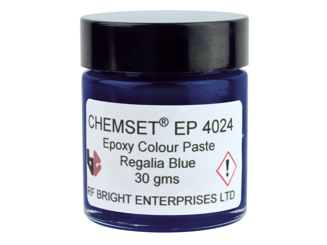 Epoxy Enamel Opaque, Regalia Blue, 30g Paste Un3082