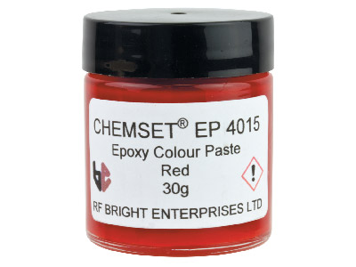 Epoxy Enamel Paste Red 30gm Un 3082