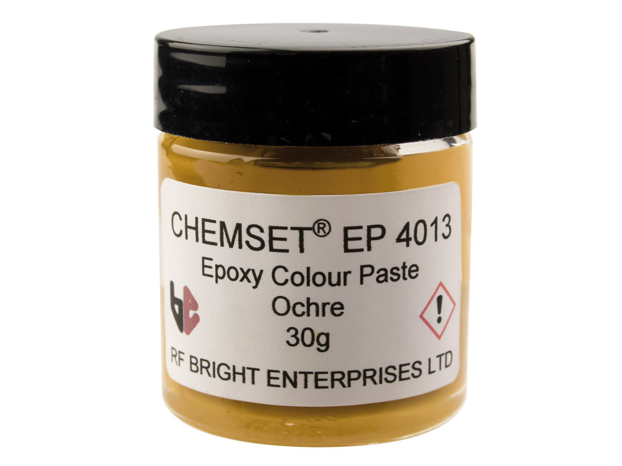 Epoxy Enamel Opaque, Ochre, 30g    Paste