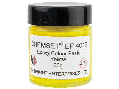 Epoxy Enamel Paste Yellow 30gm Un 3082
