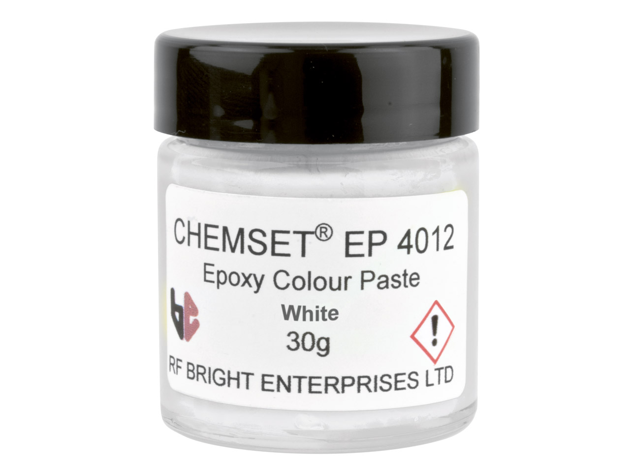 Epoxy Enamel Opaque, White, 30g    Paste Un3082