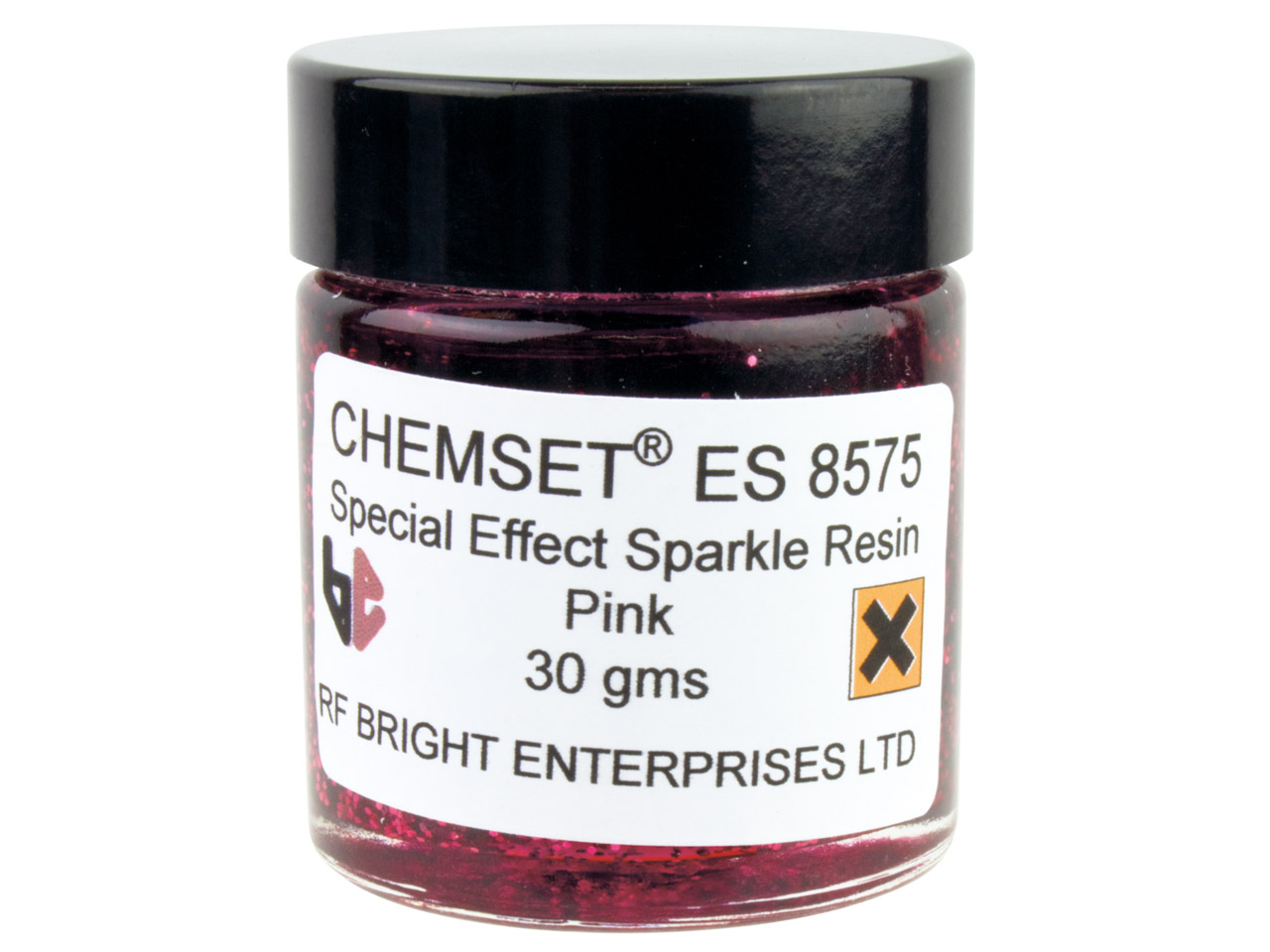 Epoxy Enamel Sparkle, Pink, 30g    Paste Un3082