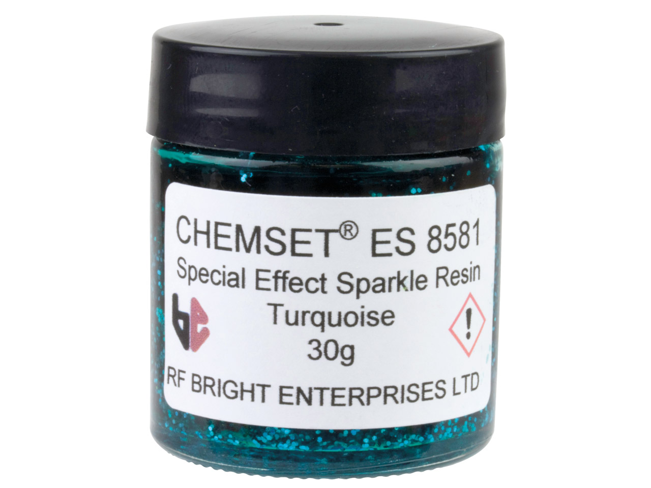 Epoxy Enamel Sparkle, Turquoise,   30g Paste