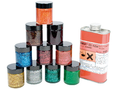 Epoxy Enamels Sparkle Effect Kit Un3082