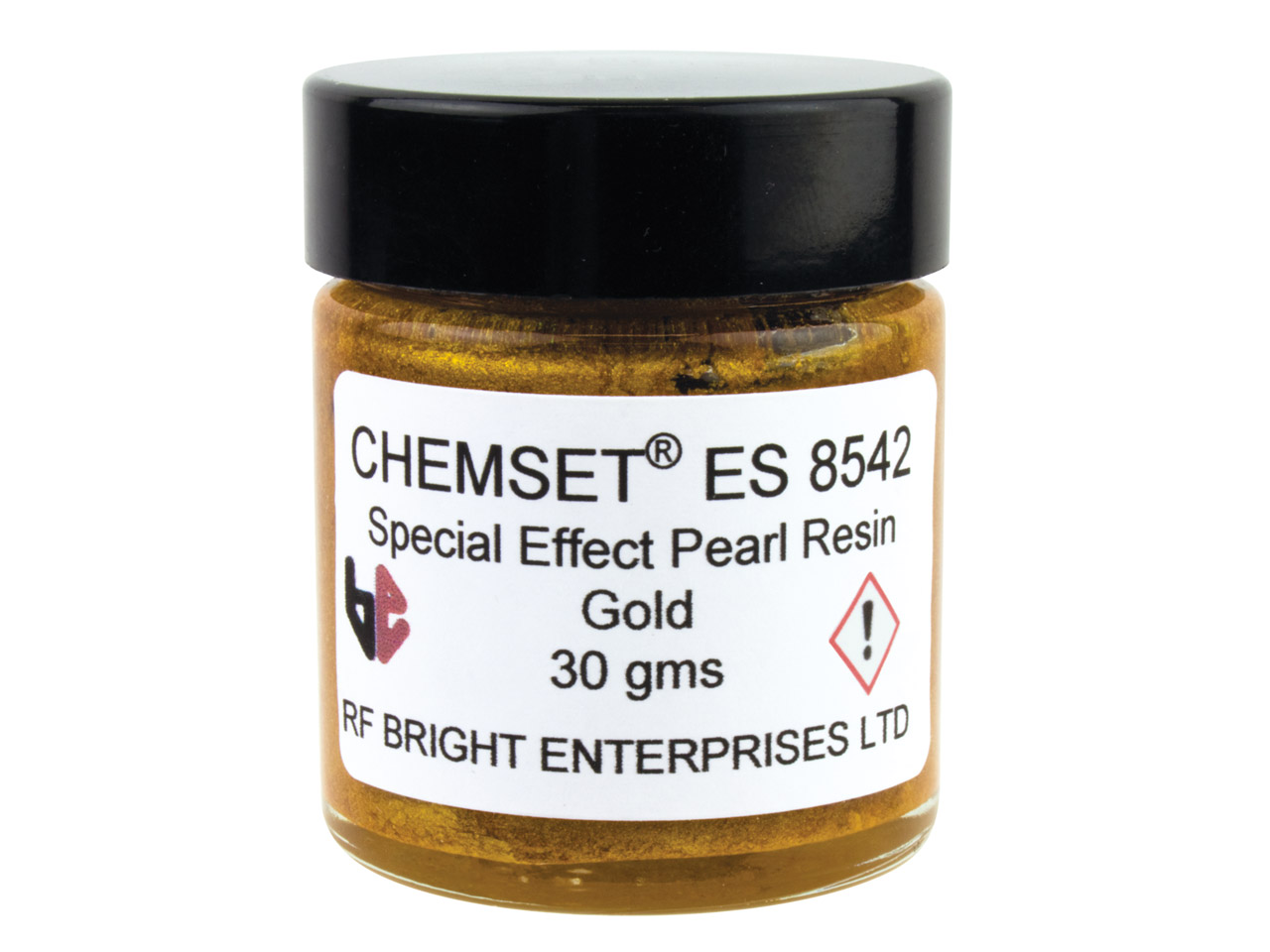 Epoxy Enamel Pearl, Gold, 30g Paste