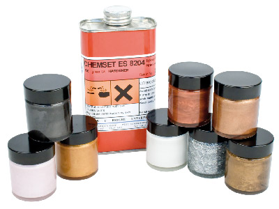 Epoxy Enamels, Metallic & Pearl Kit, Un3082