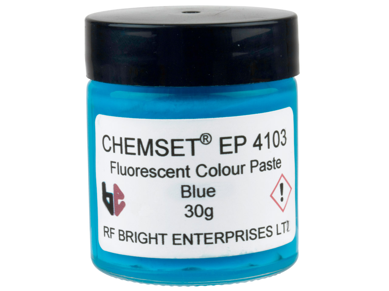 Epoxy Enamel Neon, Blue, 30g Paste Un3082