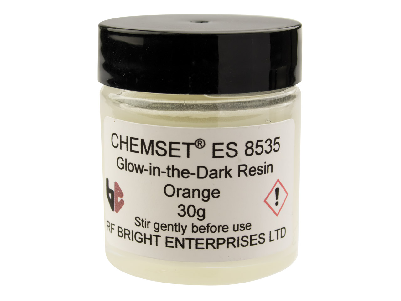 Epoxy Enamel Glow In The Dark,     Orange 30g Un3082