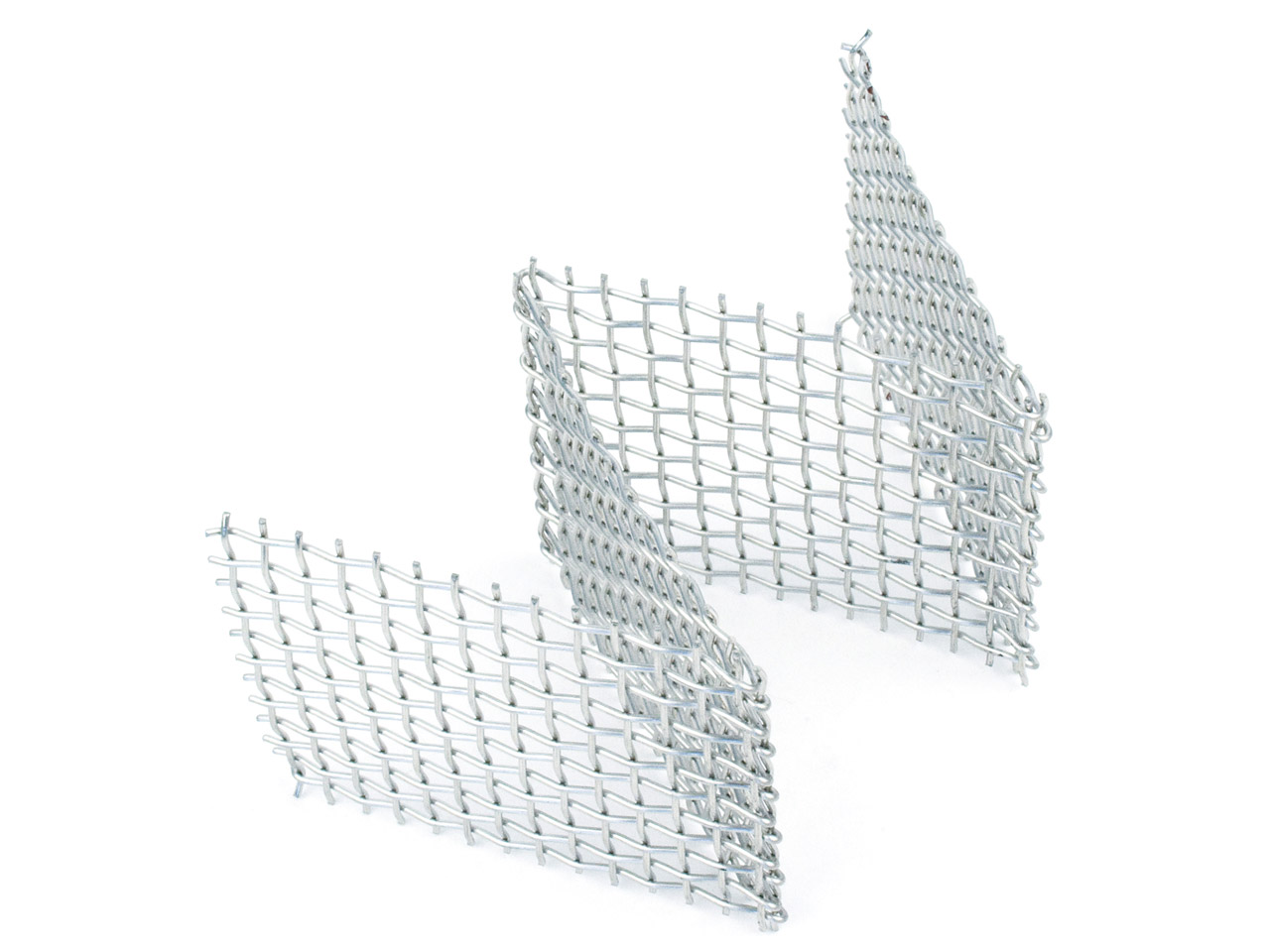 Standard Woven Mesh Rack Stainless Steel Pre Shaped 'w' 100x50x50mm   Ideal For Firing Beads