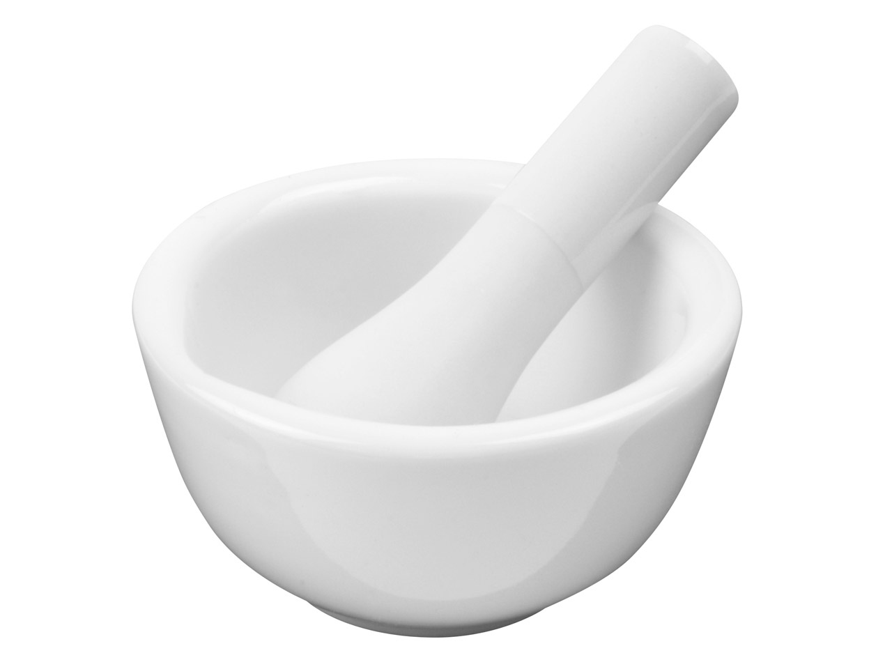 Pestle And Mortar Acid Proof       Porcelain 60mm Diameter