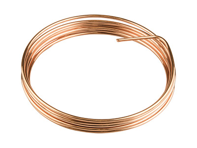 Copper Round Wire 1.6mm X 3m Fully Annealed