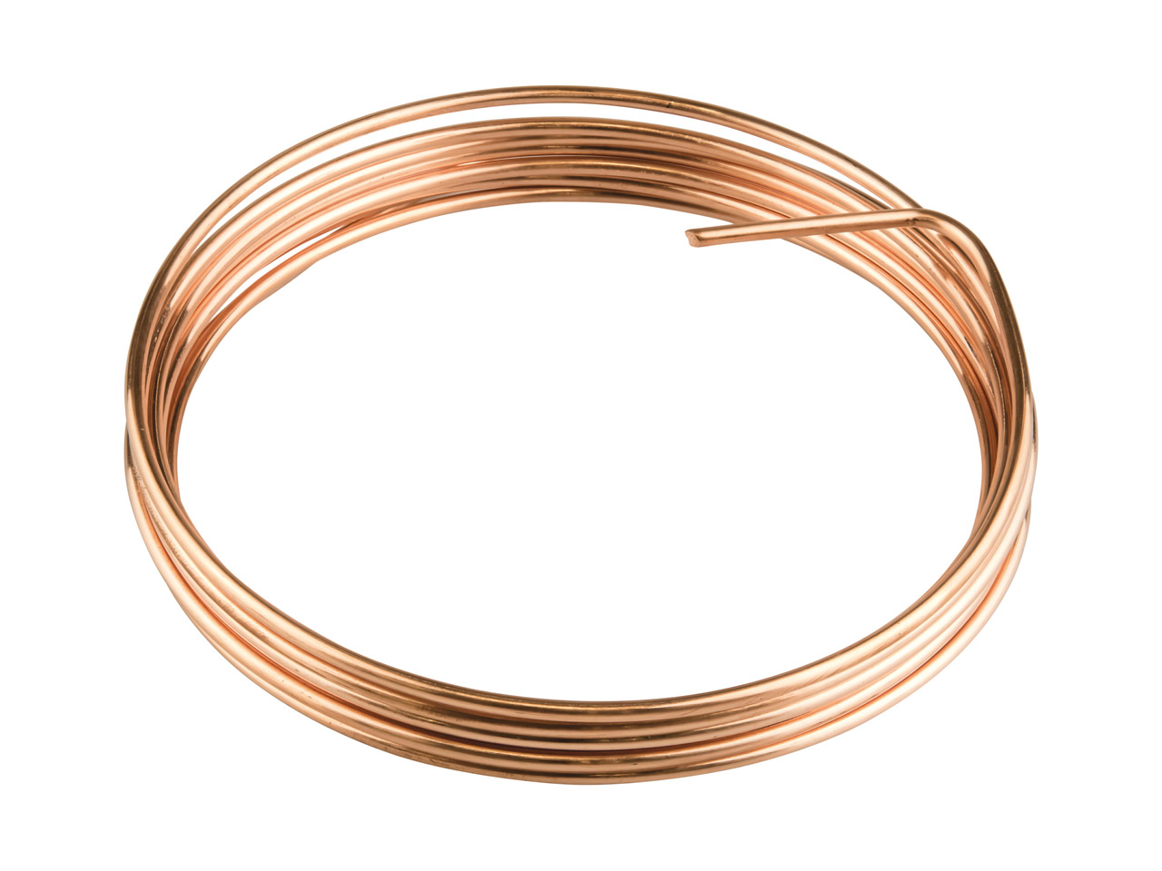 Copper Round Wire 1.2mm X 3m Fully Annealed
