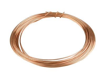 Copper Round Wire 0.8mm X 7.5m     Fully Annealed