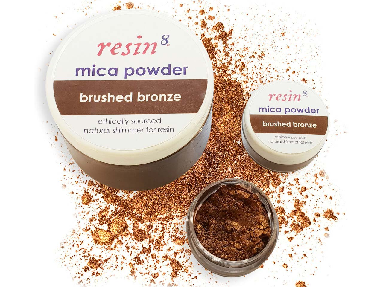 Mica Powder For Resin Casting,     Bronze, 5g