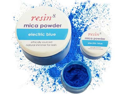 Mica Powder For Resin Casting     Electric Blue 5g