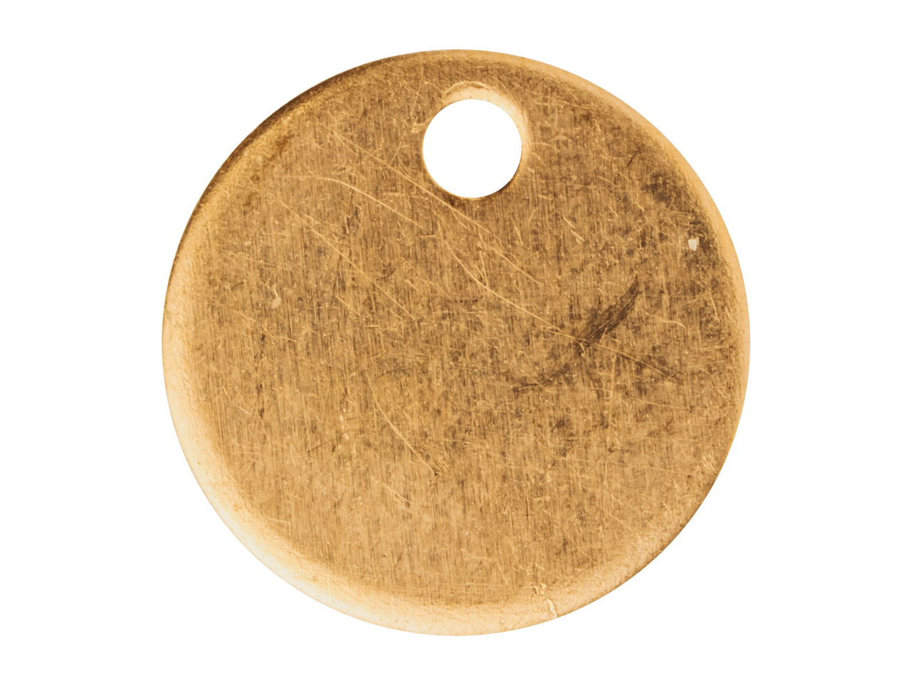 Copper Blanks Round Disc Drop      Pack of 6, 12mm