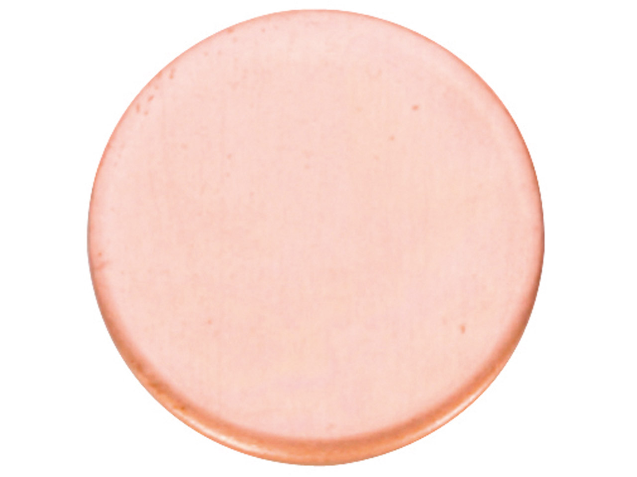 Copper Blanks Round Pack of 6 25mm X 1mm