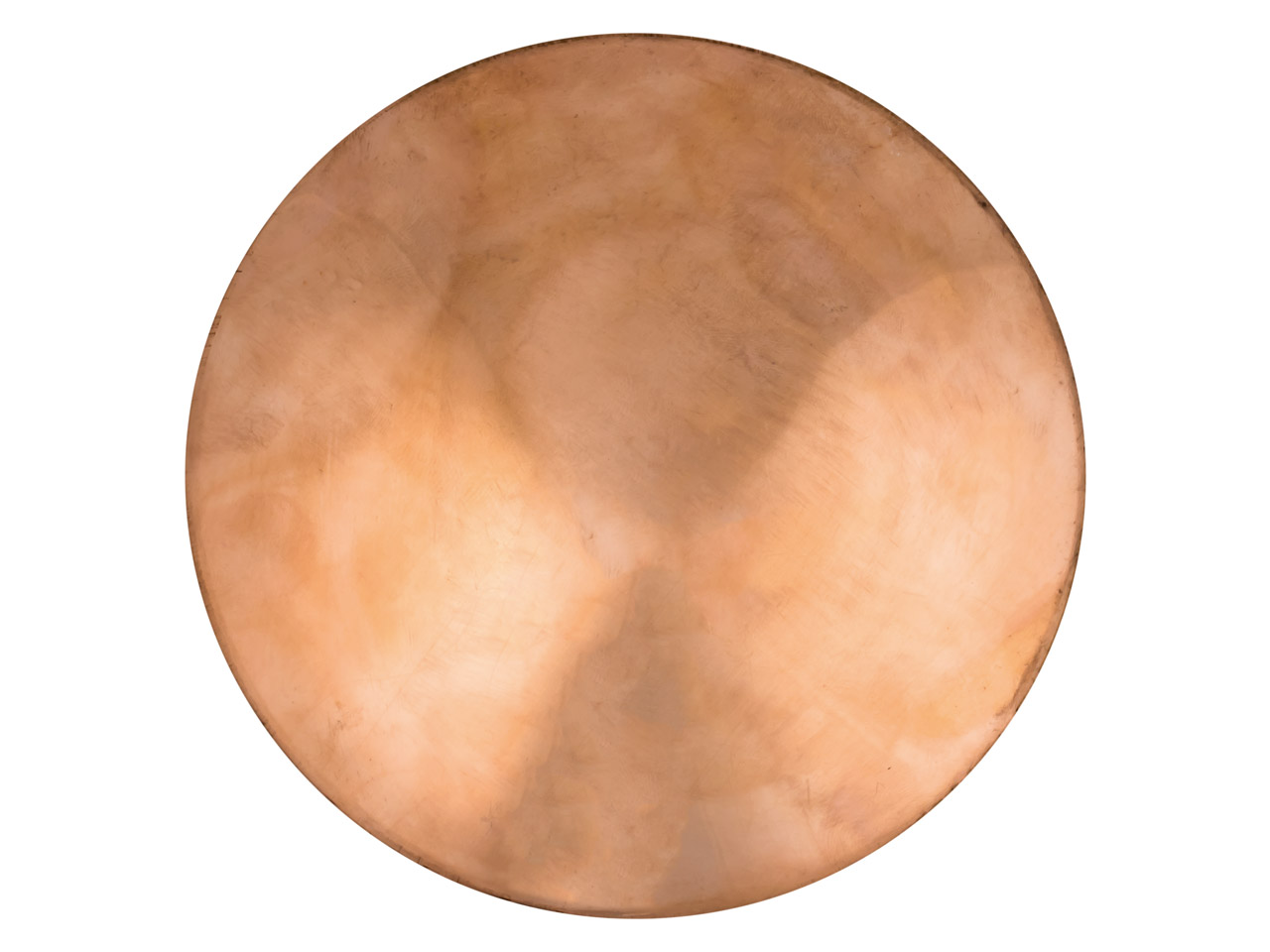 Copper Blank Round Domed Pack of 1, 127mm X 0.9mm
