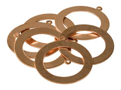 Copper-Blanks-Washer-With-Pierced--Ho...