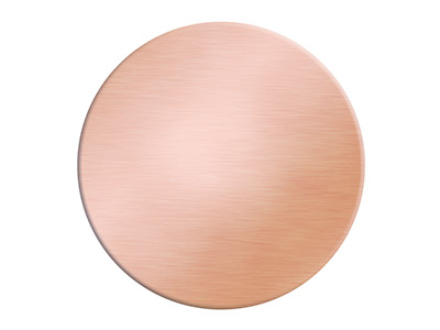 Copper Blanks Round Pack of 1