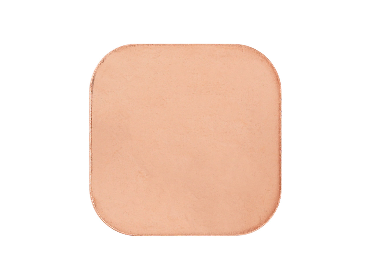 Copper Blanks Rounded Square       Pack of 20 18mm X 18mm