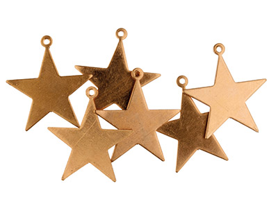 Copper-Blanks-Small-Star-Pack-of-6-16...