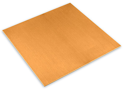 Copper Sheet 225x225x0.9mm