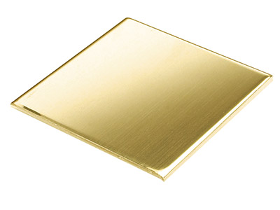 Brass Sheet 100x100x0.7mm