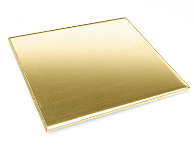 Brass Sheet 150x150x0.9mm