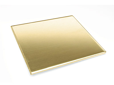 Brass Sheet 200x200x0.9mm