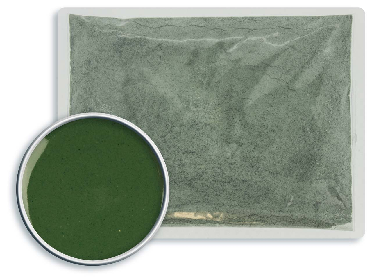 Leadfree Opaque Enamel Dark Green, 608, 25gm