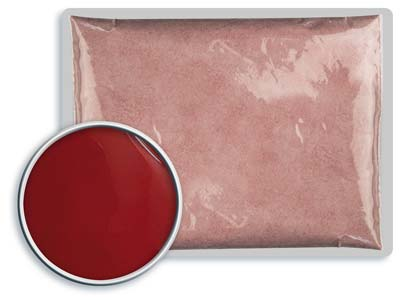 Leadfree Opaque Enamel Deep Red    8041 25g
