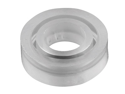 Silicone Plain Ring Mould For Resin Casting, Size P12