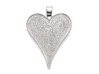Silver-Plated-Pendant-Bezel-Heart--Me...