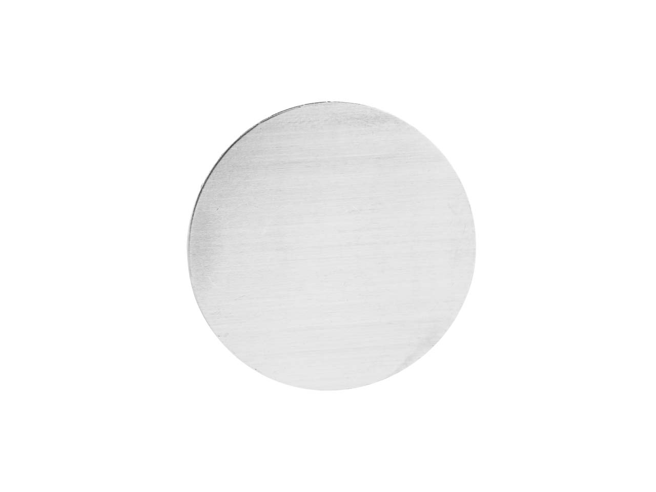 Impressart Aluminium Blanks Round  12.7mm X 0.8mm, Pack of 20