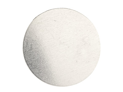 Impressart Aluminium Blanks Round  25.4mm X 0.8mm Pack of 15