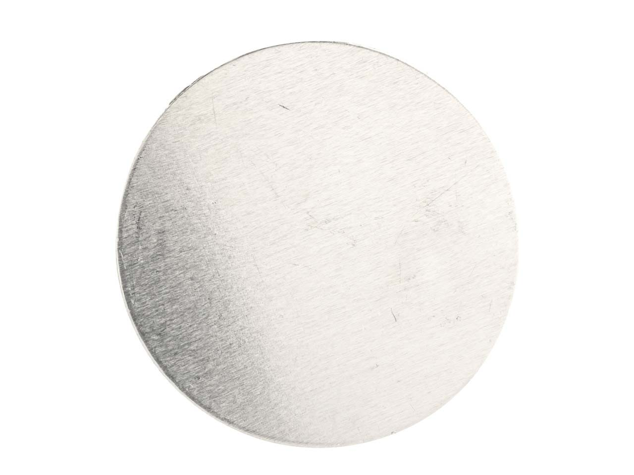 Impressart Aluminium Blanks Round  25.4mm X 0.8mm, Pack of 15