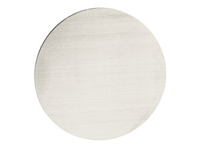 Impressart Aluminium Blanks Round  38.1mm X 0.8mm Pack of 8