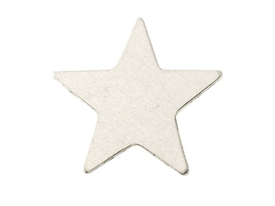 Impressart Aluminium Blanks Star   22.3mm X 0.8mm Pack of 18