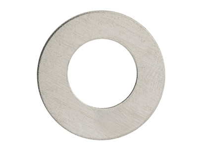 Impressart Aluminium Blanks Round  Washer 25.4mm X 0.8mm Pack of 14