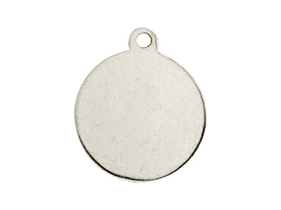 Impressart Aluminium Blanks Round  Tag 16mm X 0.8mm Pack of 20