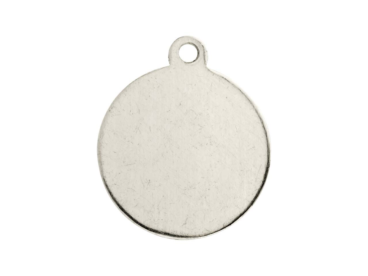 Impressart Aluminium Blanks Round  Tag 16mm X 0.8mm, Pack of 20