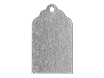 Impressart Aluminium Blanks Gift   Tag 22x13mm Pack of 20