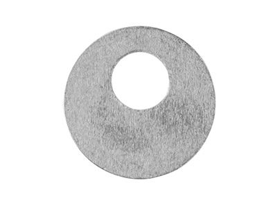 Impressart Aluminium Blanks Round  Offset Washer 25.4mm X 0.8mm      Pack of 14