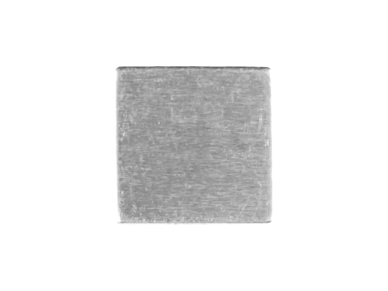 Impressart Aluminium Blanks Square 12.7mm X 0.8mm, Pack of 20