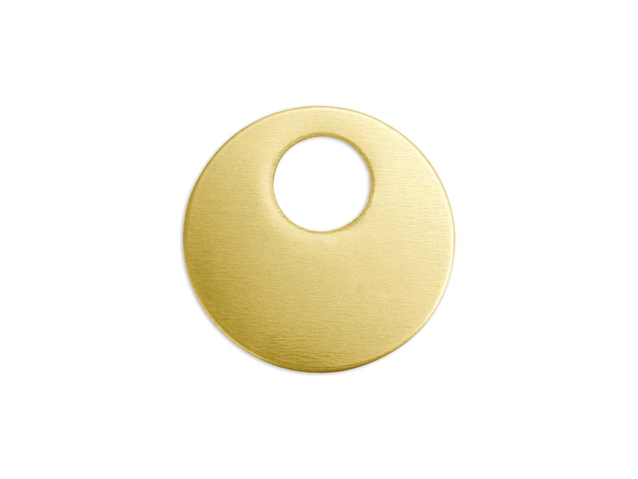 Impressart Brass Offset Washer 22mm Stamping Blank Pack of 5