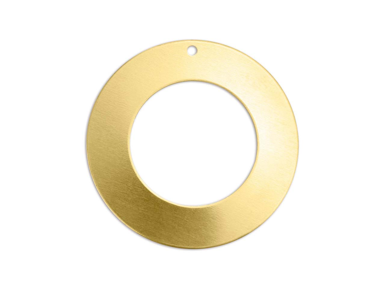 Impressart Brass Washer 32mm       Stamping Blank Pack of 3 Pierced   Hole