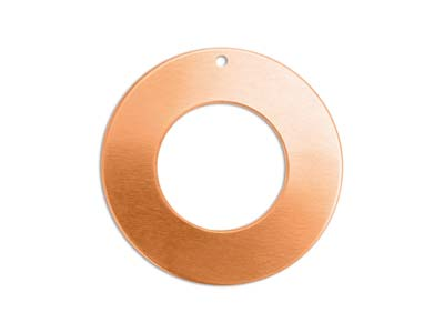 Impressart Copper Washer 25mm      Stamping Blank Pack of 4 Pierced   Hole
