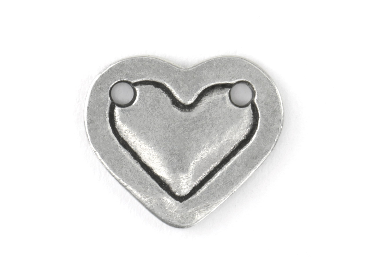 Impressart Pewter Heart Border      15.9x1.3mm Stamping Blank Pack of 3