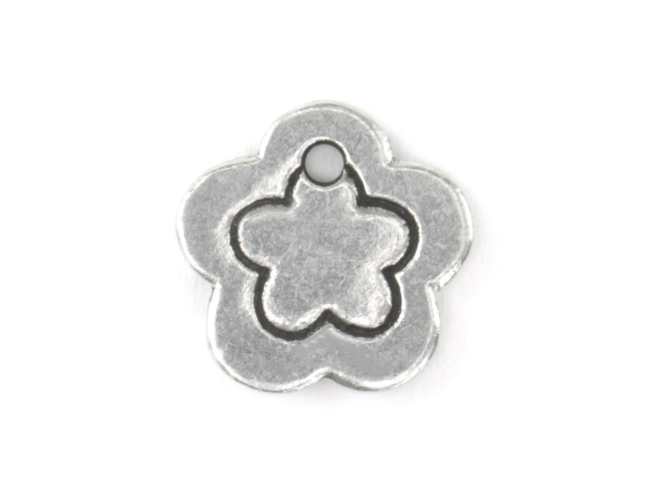 Impressart Pewter Flower Border     12.7x1.3mm Stamping Blank Pack of 3